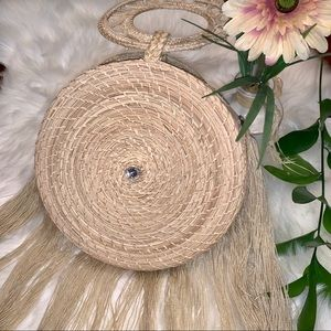 🇨🇴🌴 Hand Made Straw Round Bag